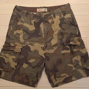 American Eagle Cargo Shorts.